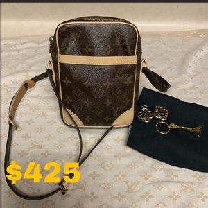 SOLD Authentic Louis Vuitton Danube Crossbody Bag